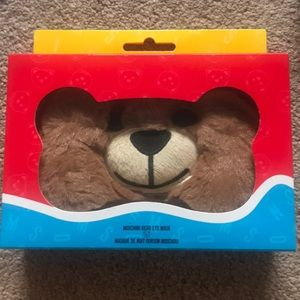 sephora+Moschino bear eye mask